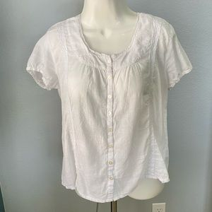 White blouse from tommy
